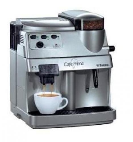 saeco cafe prima kávégép  saeco kávégépek  felújított  ~ Kaffeemaschine Oder Kaffeevollautomat